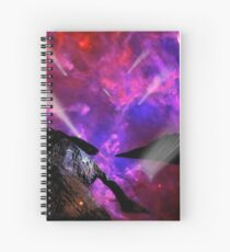 Asteroid Showers over Bow Fiddle Rock Spiral Notebook
