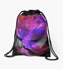 Asteroid Showers over Bow Fiddle Rock Drawstring Bag