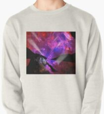Asteroid Showers over Bow Fiddle Rock Pullover Sweatshirt