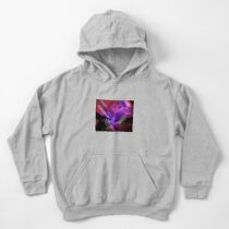 Asteroid Showers over Bow Fiddle Rock Kids Pullover Hoodie