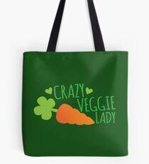 Crazy Veggie Lady Tote Bag