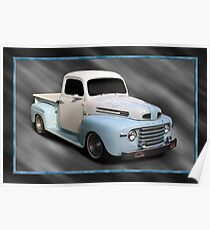 1948 Ford Pickup Poster