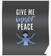 Give me Inner Peace (Spiritual / Meditaiton) Poster