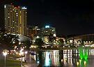 Twinkle twinkle.....city lights by Helen Vercoe