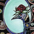 Emu gal by Jenny Wood