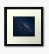 Milky Way Nebula Framed Print
