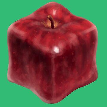 Apple Cube by HeribertoM