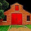 The Old Red Barn by bazcelt