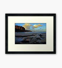 Shack Beach Framed Print