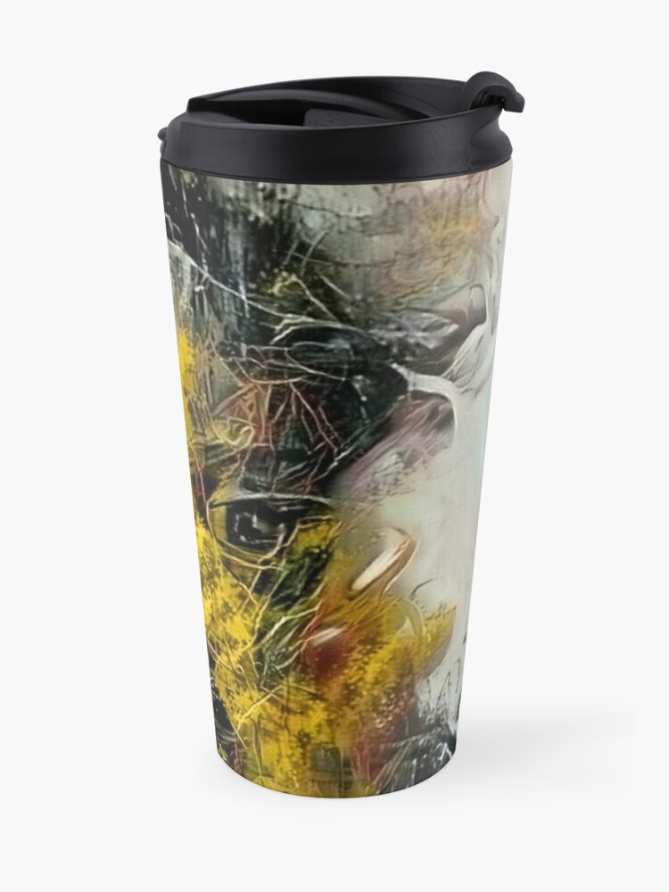 Alternate view of Mythical Face Travel Mug