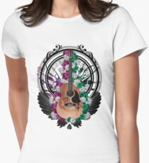 Acoustic Guitar Art T-Shirt