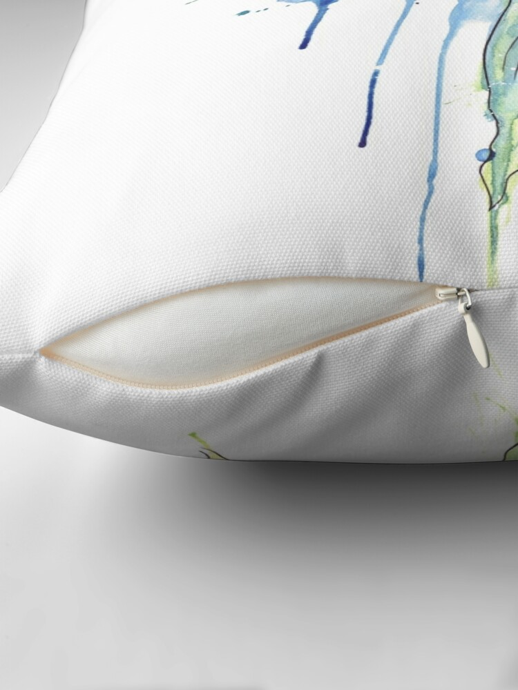 Alternate view of Mermaid Throw Pillow