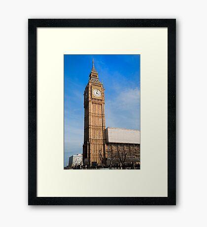 Big Ben. London, UK. Framed Print