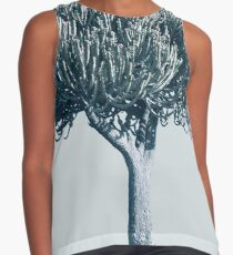 Monochrome - Candelabra tree Sleeveless Top