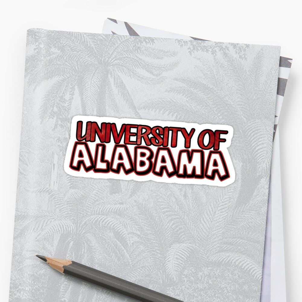 University of Alabama by Kt Farello Designs