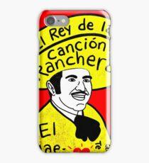 Vicente Fernandez Mexico Pop Folk Art iPhone Case/Skin