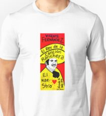 Vicente Fernandez Mexico Pop Folk Art Unisex T-Shirt