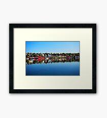 Lunenburg - Nova Scotia Framed Print