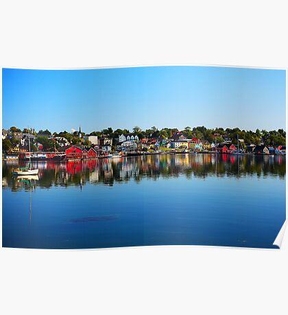 Lunenburg - Nova Scotia Poster