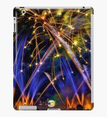 Big Blue Illuminations Fireworks at Epcot iPad Case/Skin