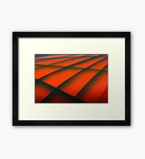 Street Rod Art: Layers of the Hood Framed Print