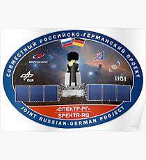 Logo der Spektr RG Sternwarte Poster