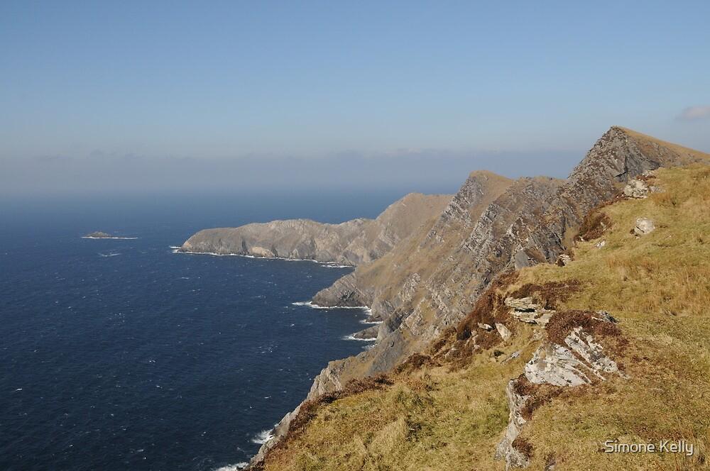 Achill Cliffs by Simone Kelly