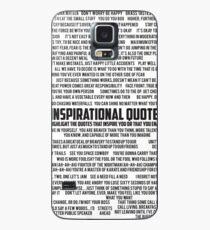 Inspirerende Zitate Hülle & Klebefolie für Samsung Galaxy