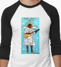 Sister Rosetta Tharpe Gospel Folk Art Baseball ¾ Sleeve T-Shirt