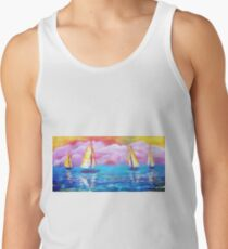 Cotton Candy Cove Tank Top