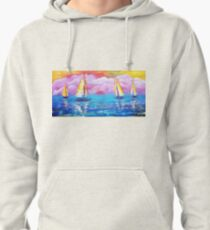 Cotton Candy Cove Pullover Hoodie