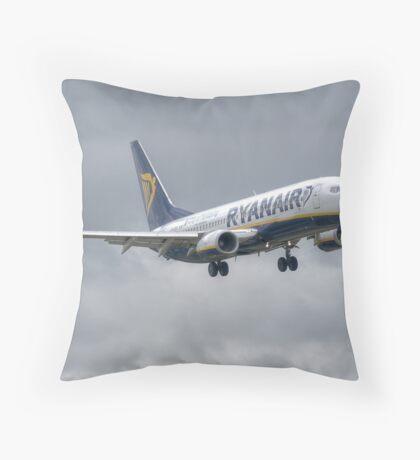 Ryanair Boeing 737 Throw Pillow