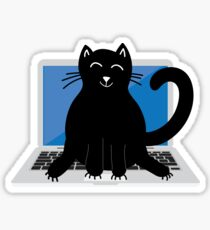 Pegatina Chatear en la computadora portátil