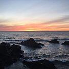Sunset over Putsborough by secretofpegasus