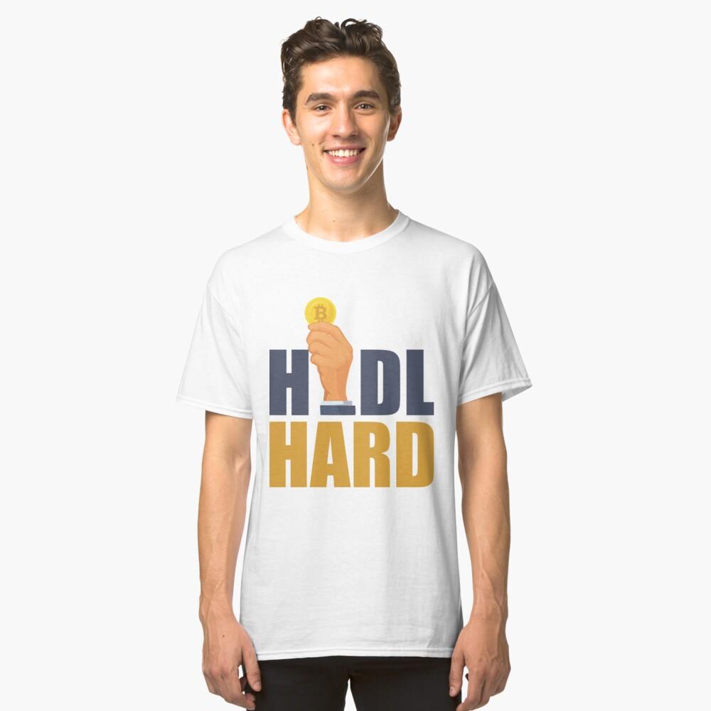 Hodl Hard Hand Classic T-Shirt