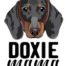 Doxie mama - dog mom, dog mama, doxie mama, dog mom shirt, tricolored, doxie, cute dog, dog  by PetFriendly