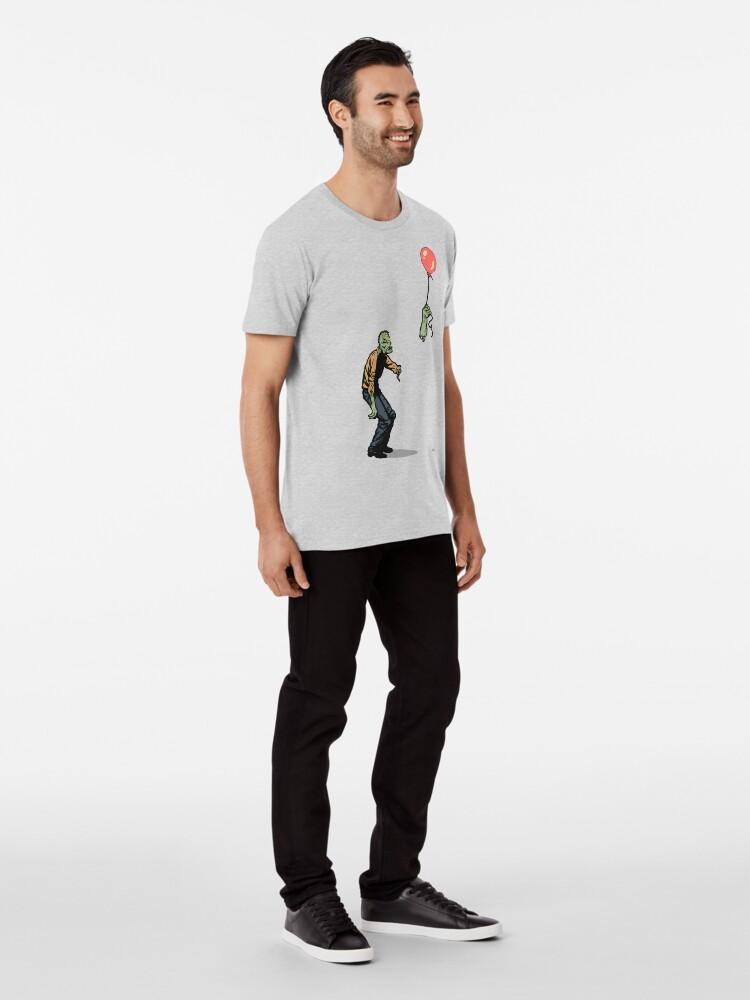 Vista alternativa de Camiseta premium zombi
