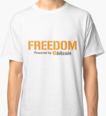 Freedom by Bitcoin Classic T-Shirt