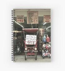 Knick Knacks Spiral Notebook