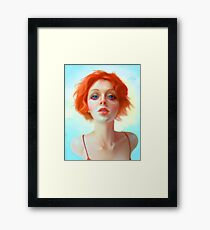 Project Barbra Framed Print