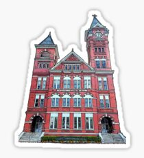 samford hall  Sticker