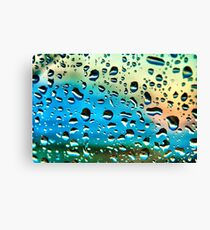 Windscreen Water Canvas Print
