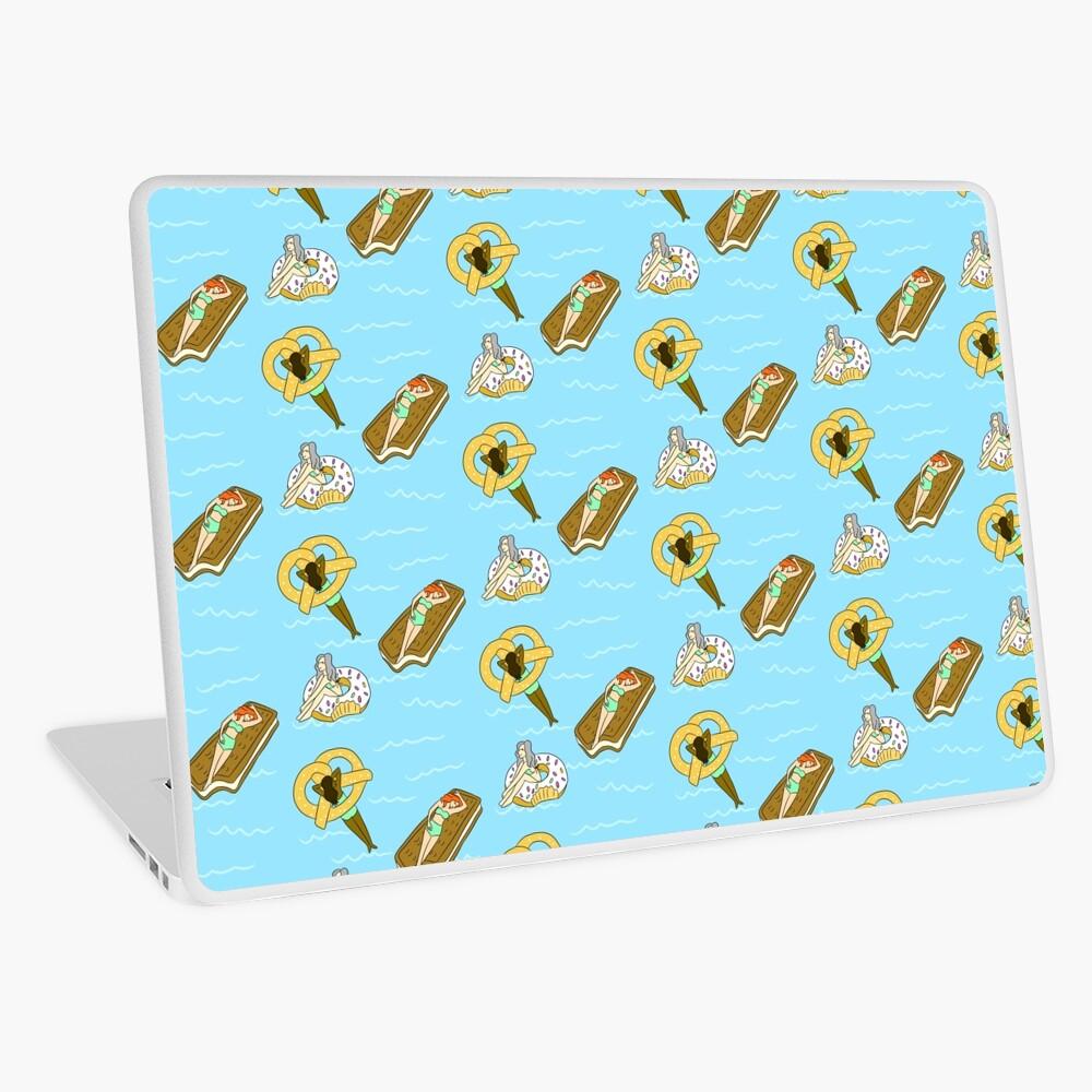 Foodie Pool Party Laptop Skin