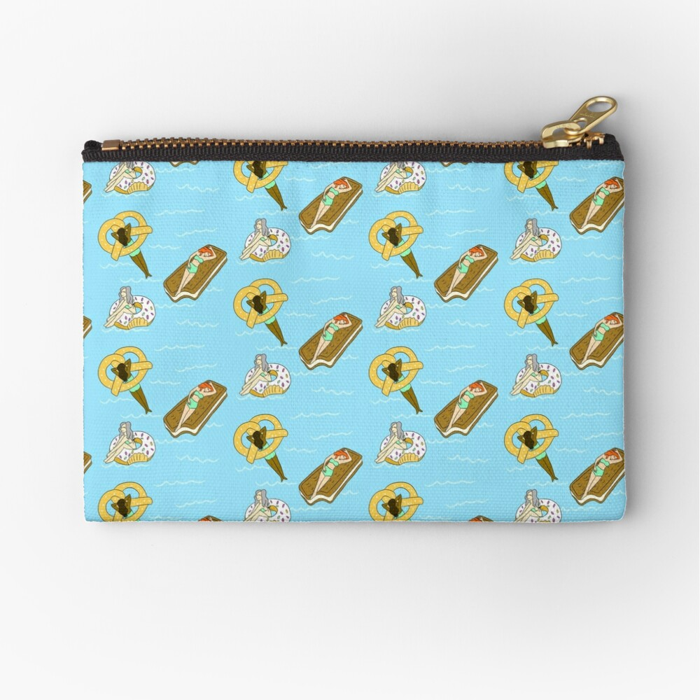 Foodie Pool Party Zipper Pouch