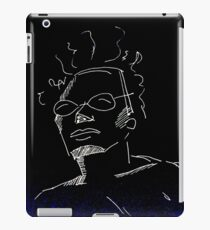 The cool dude  iPad Case/Skin