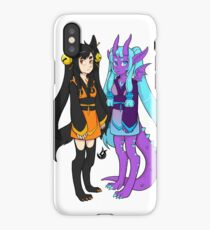 Blaze and Lunar iPhone Case