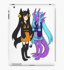 Blaze and Lunar iPad Case/Skin