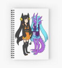 Blaze and Lunar Spiral Notebook