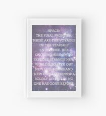 Space: The Final Frontier Hardcover Journal
