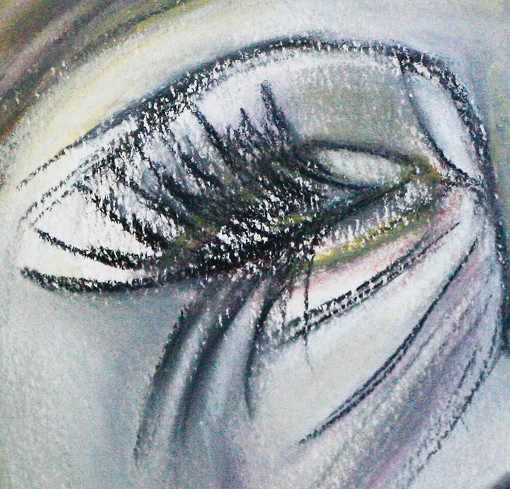 Sad Beauty...Crop by C Rodriguez